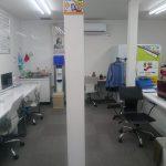 教室のレイアウトちょっと変更した。岡山市のロボット教室